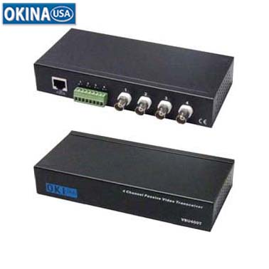 4-Ch Video Balun with Extra Interference Rejection Okina VBU400T