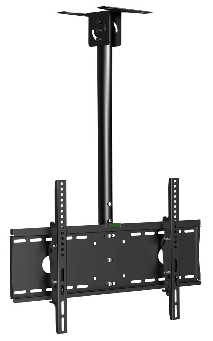 flat tv ceiling mount adjustable pole angle 32 55 tilt. Black Bedroom Furniture Sets. Home Design Ideas
