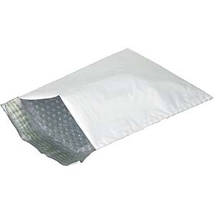 "4 x 7"" Bubble Padded Poly Mailer Bag, 500/Case"