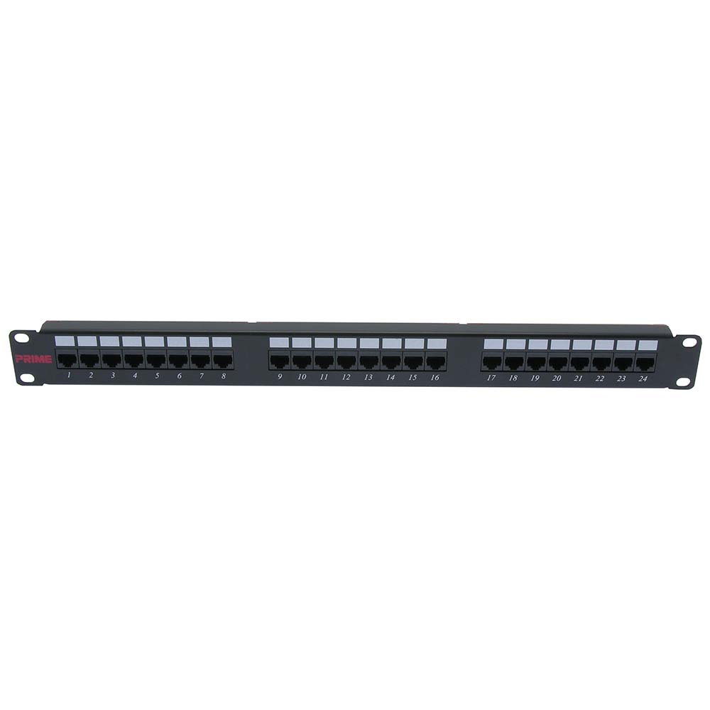 (Clearance) Cat.5E 110 Type Patch Panel 24Port Rackmount