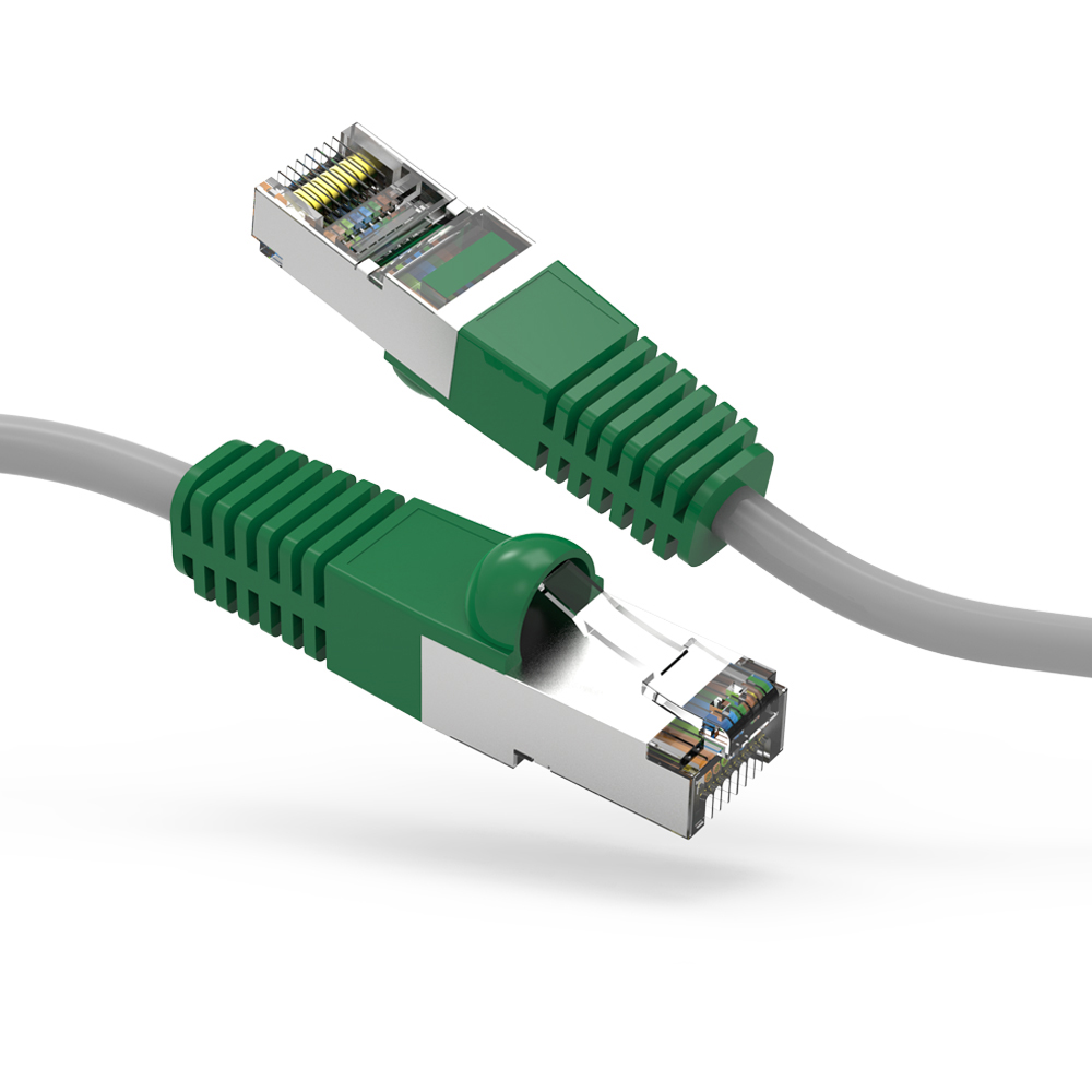 Cat.6 Shielded (SSTP) Cross Booted Cables img
