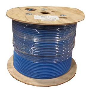 1000Ft Cat 6A 10G UTP Solid Wire Plenum CMP