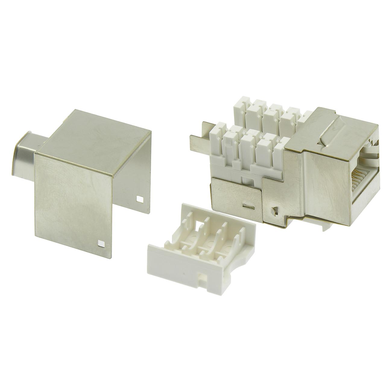Cat.5E RJ45 110 Type Shielded Keystone Jack