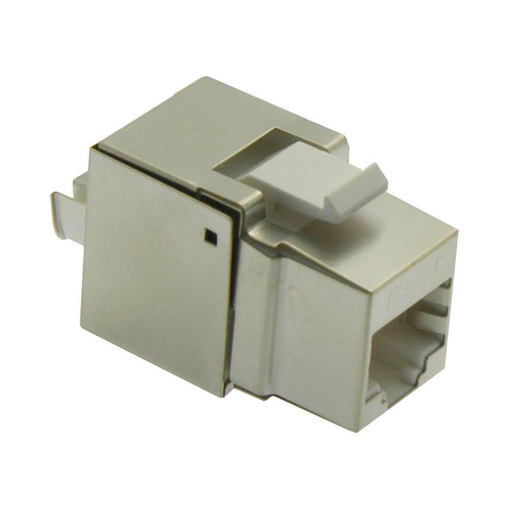 Cat.6 RJ45 110 Type Shielded Keystone Jack