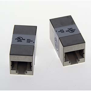 Cat.5e RJ45 Full Shielded Inline Coupler