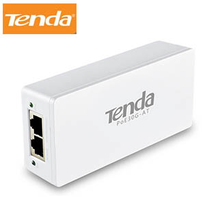 Gigabit High PoE Injector Tenda POE30G-AT