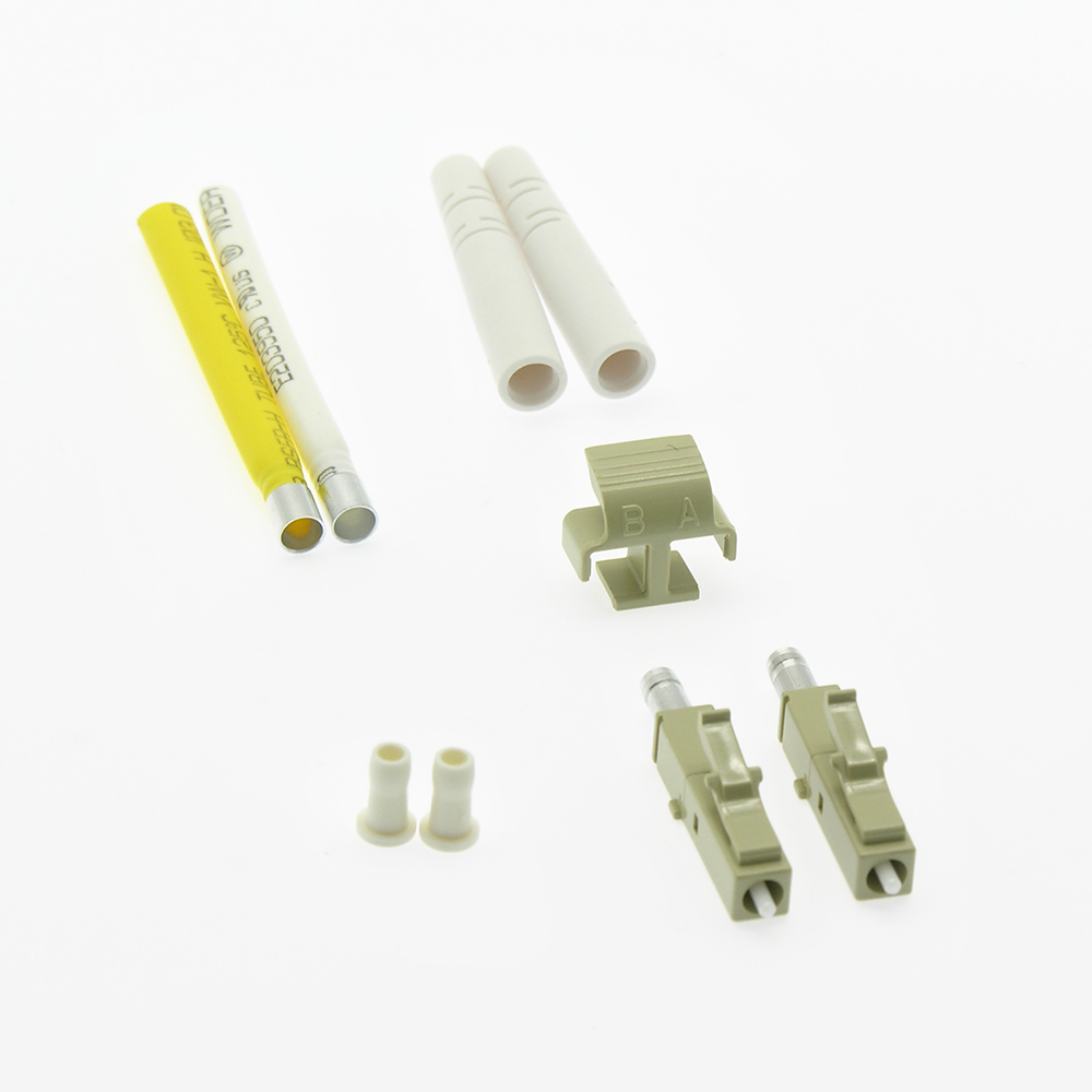 Fiber Optic LC Multimode Duplex 2mm Connector