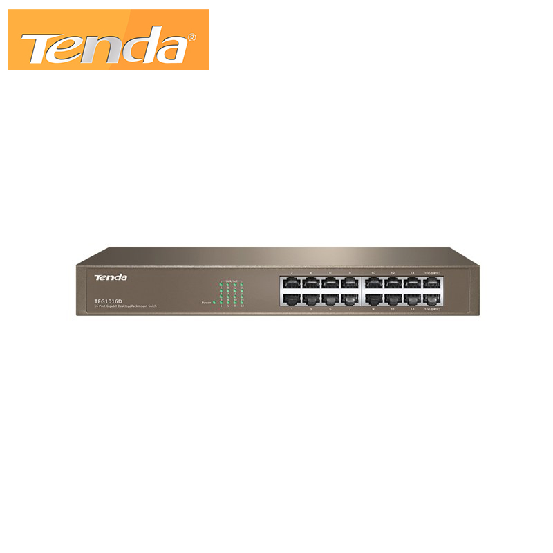 16-Port Gigabit Ethernet Switch Tenda TEG1016D v6