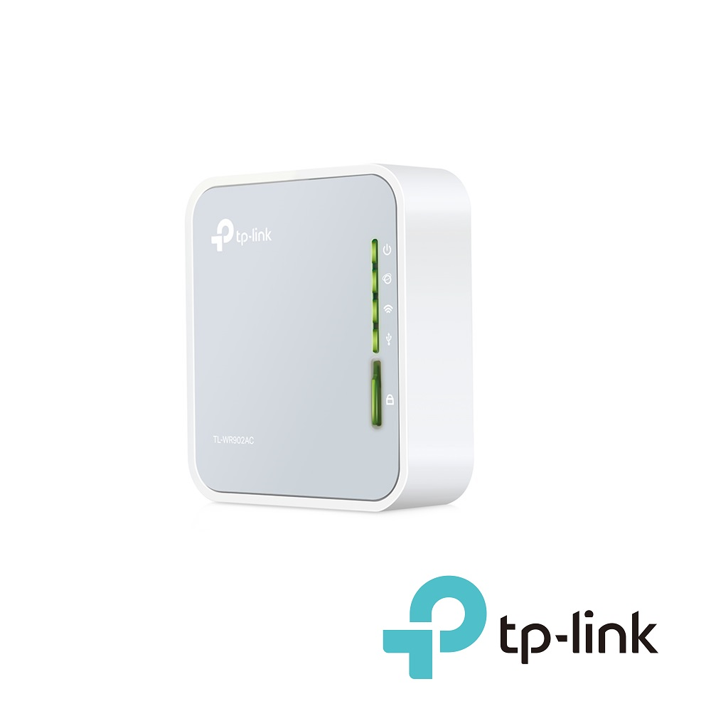 AC750 Wireless Travel Router TP-Link TL-WR902AC