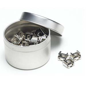 10-32 Cage Nuts Tin Can (100pc)