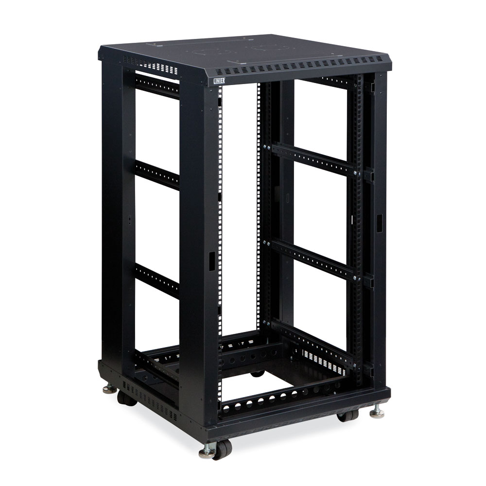 "22U Server Cabinet  No Doors/No Side Panels 24"" Depth"