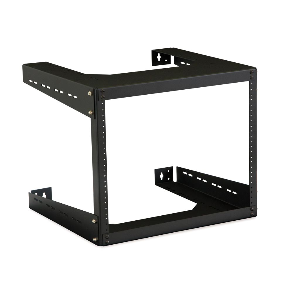 "8U 18"" Deep Open Frame Wall Rack"