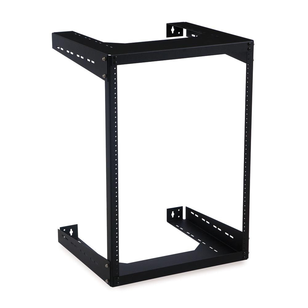 "15U 18"" Deep Open Frame Wall Rack"