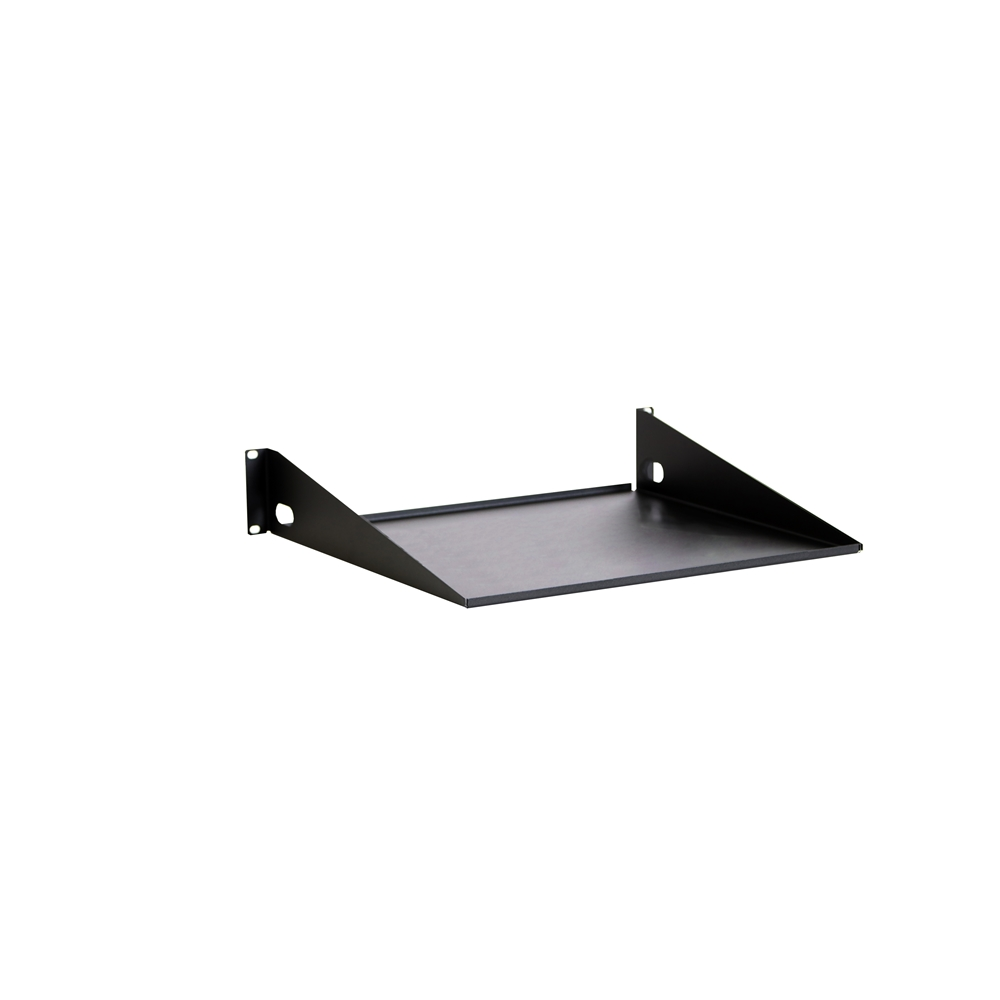 "2U 16"" Light Duty Rack Shelf"