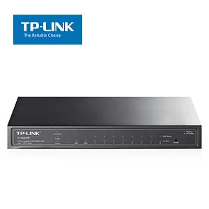 8Port 10/100/1000Mbps Gigabit Smart PoE Switch with 2 SFP Slots TP-Link SG2210P