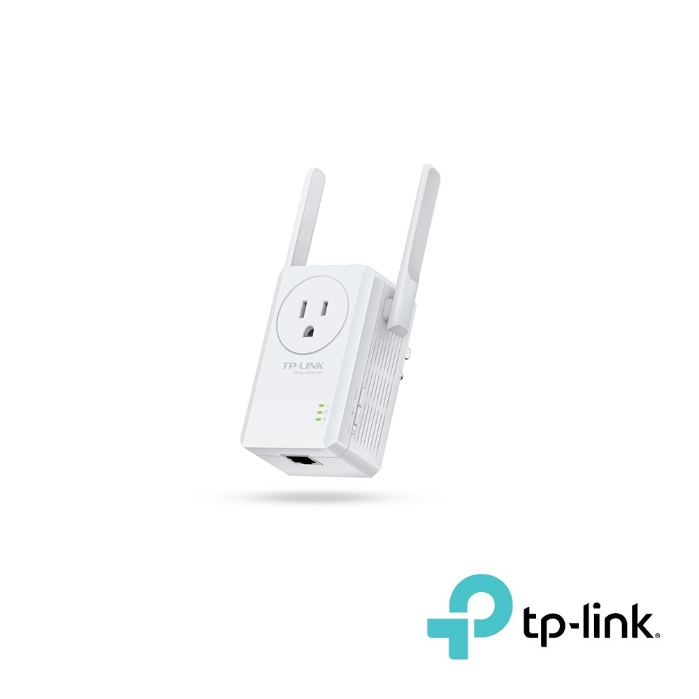 300Mbps WiFi Range Extender with AC Passthrough TP-Link WA860RE