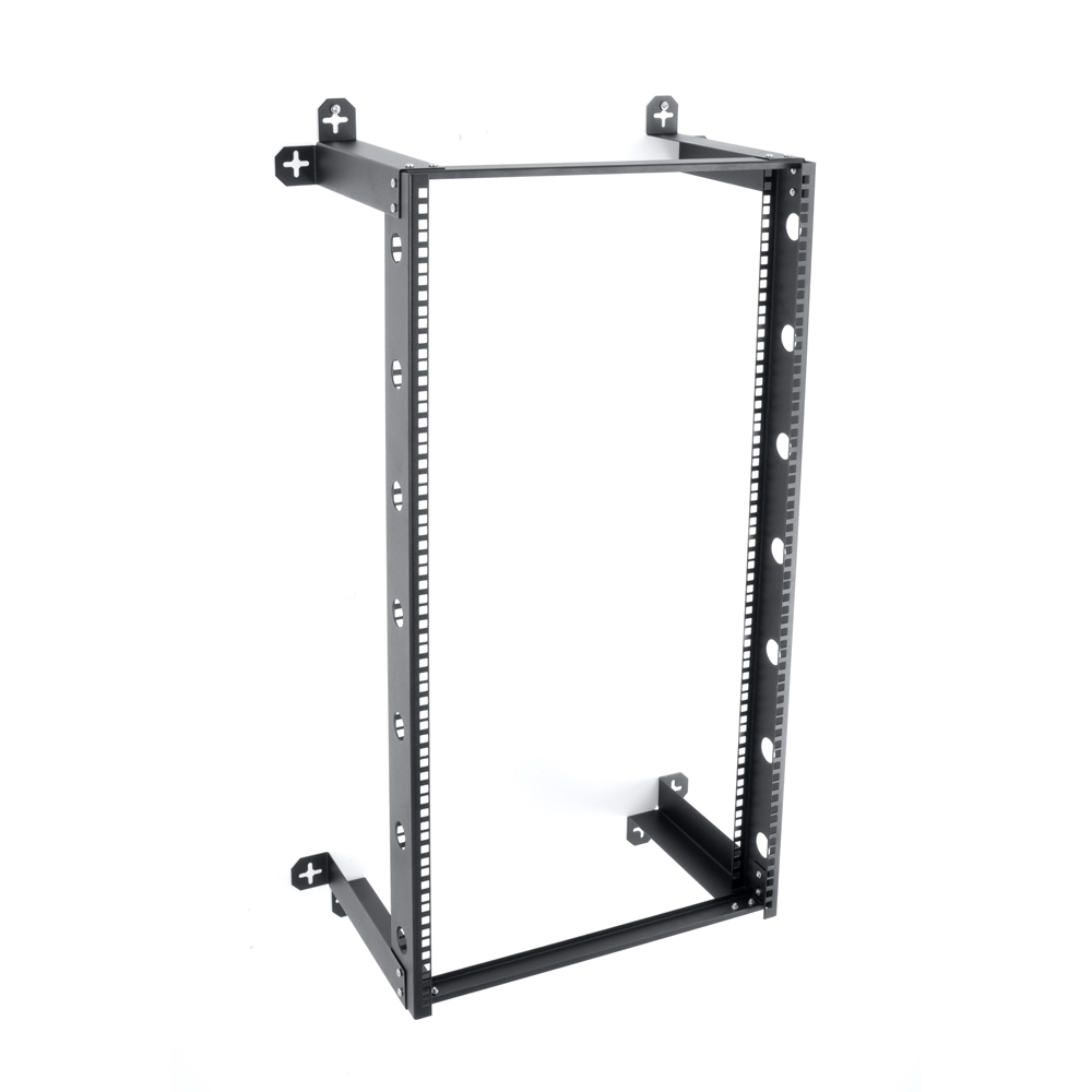 "V-Line 21U Fixed Wall Mount Rack  12"" Deep"
