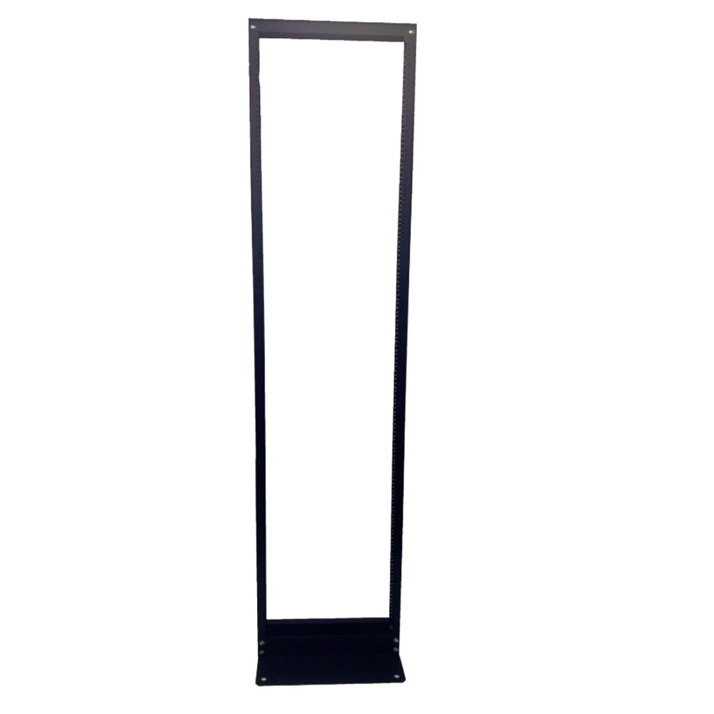 "Two-Post Rack, 19""W, 3"" Channel, 45U, 7' H"