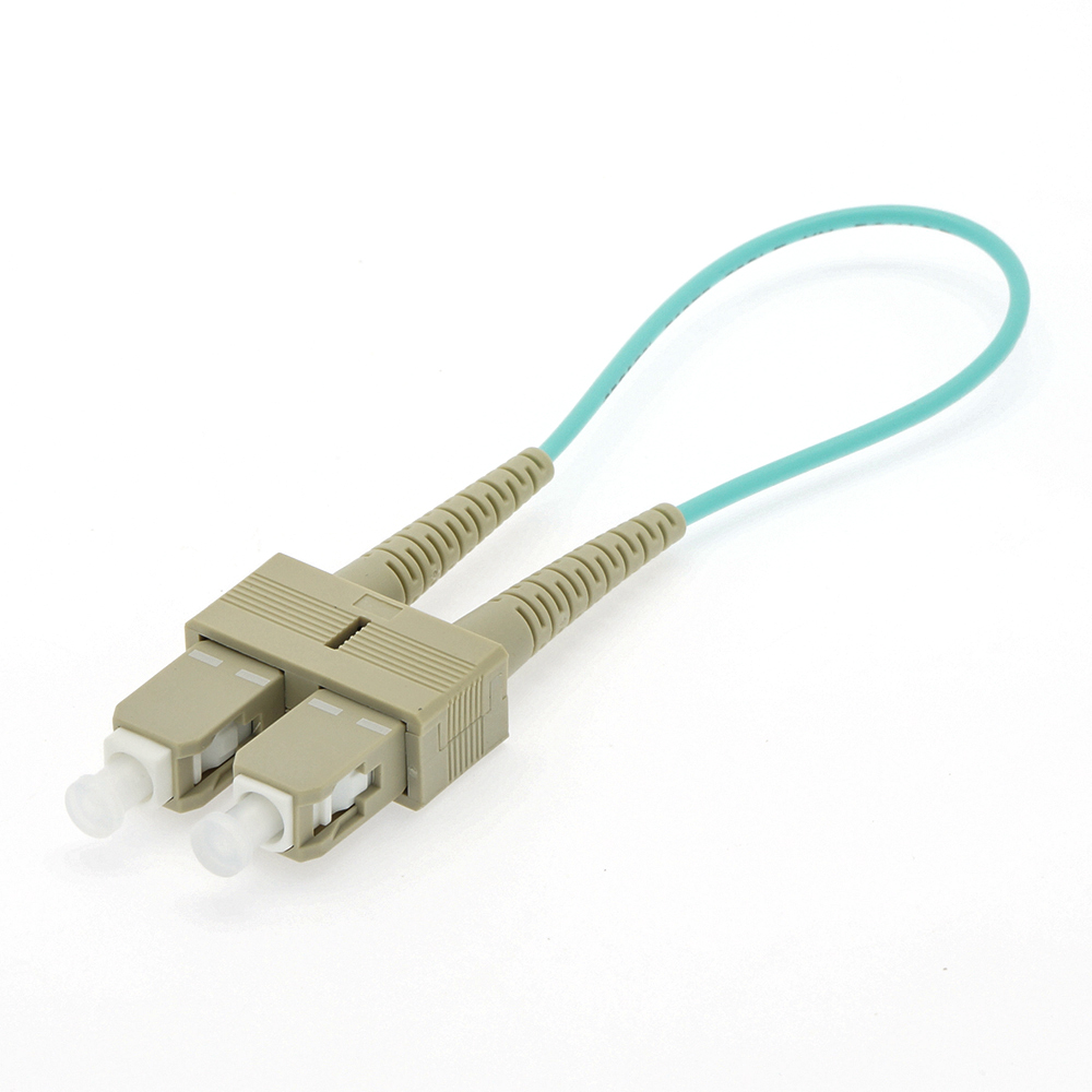 SC Multimode OM3 50/125 Fiber Optic Loopback Cable