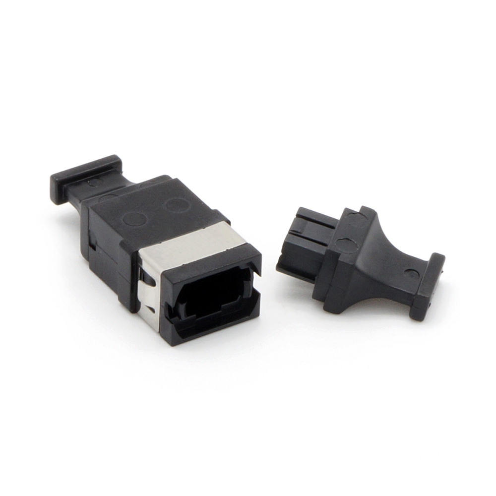 MPO Singlemode Adapter Key-Up/Key-Down without Flange Black