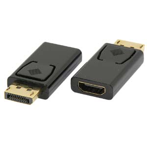 Display Port to HDMI Female Adapter