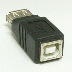 USB A-F/B-F Gender Changer