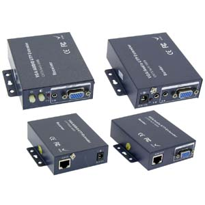 650Ft (200m) VGA/Audio Extender Via Ethernet Cable