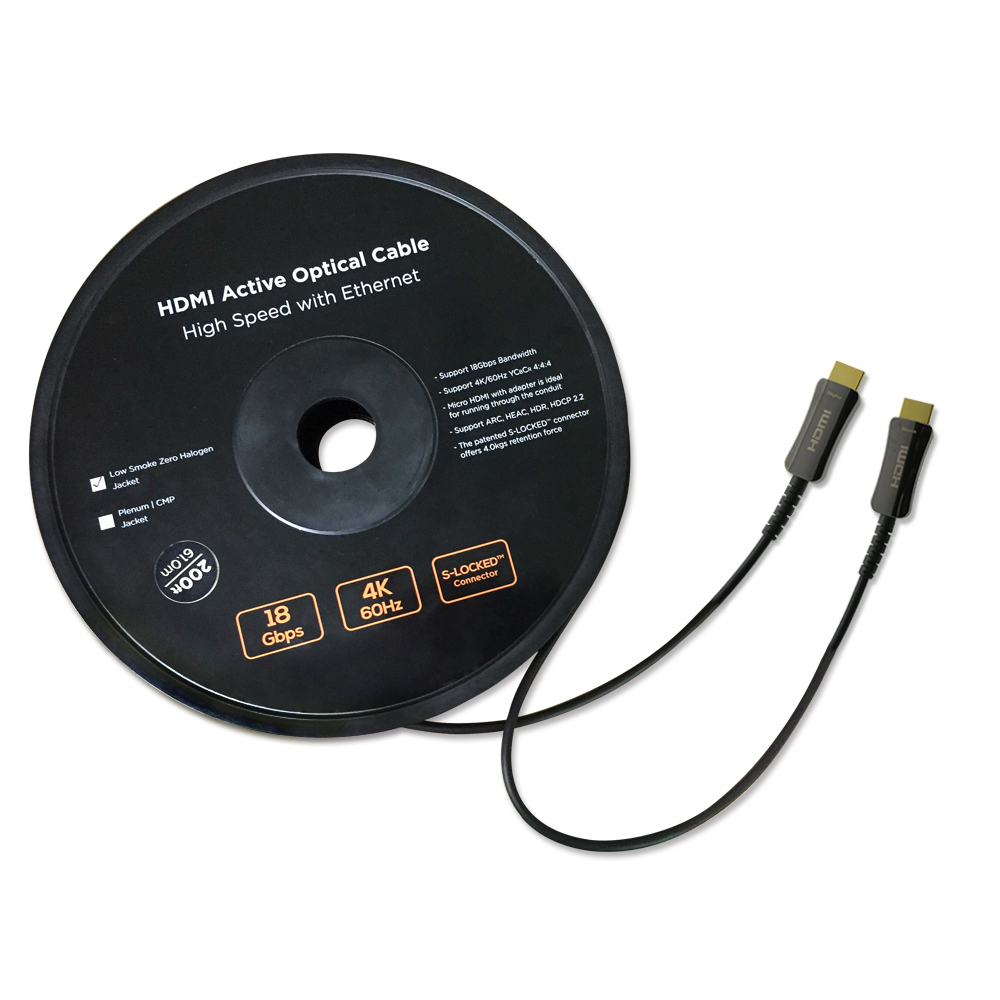 Fiber Optic/Hybrid HDMI Cables img