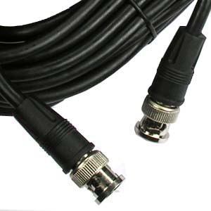 25Ft RG59 Cable with BNC Male Connector