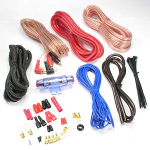 1000W 8AWG Car Amplifier Hookup Kit