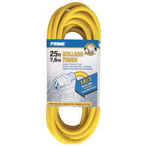 25Ft 14/3 Contractor Extension Cord, LT511725