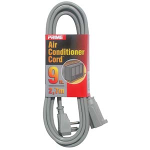 9Ft 14/3 Air Conditioner Power Extension Cord