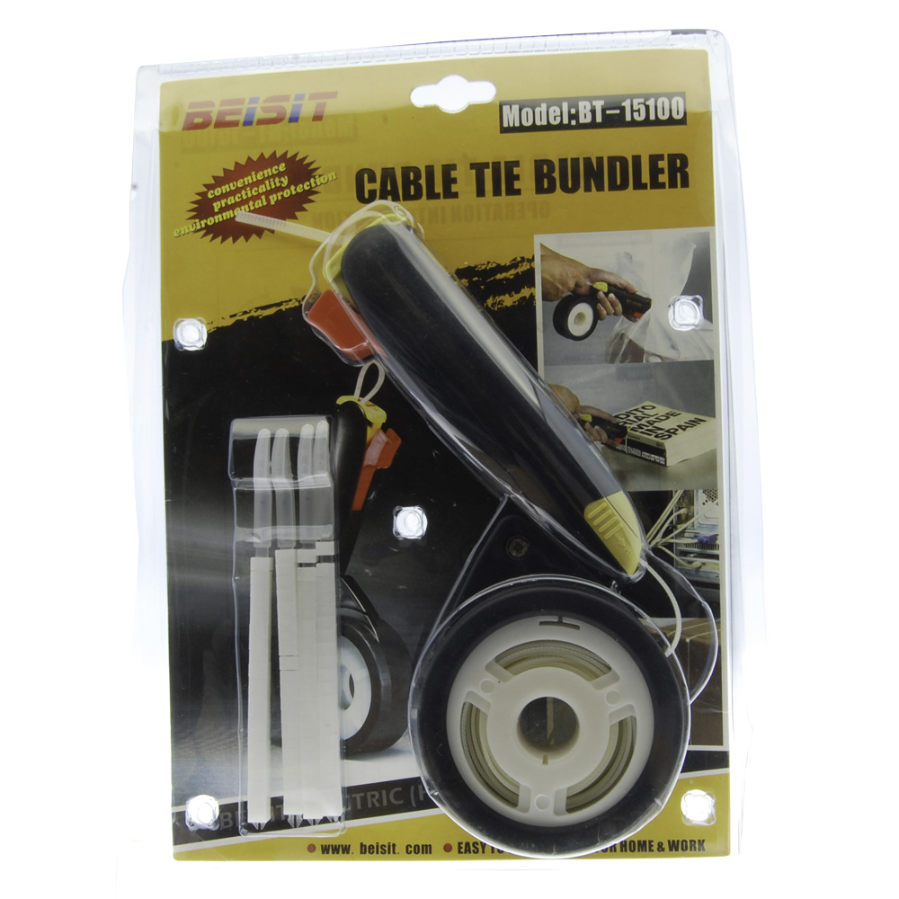 Cable Tie Bundler with Refill Stral
