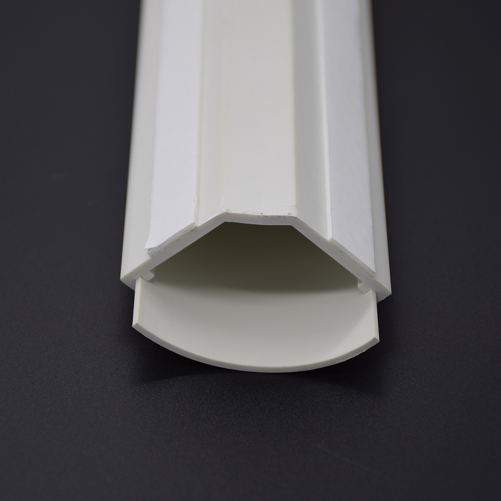 5Ft Small Corner Duct Cable Raceway White  (W43 x H23mm)