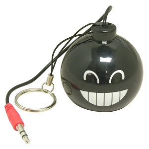 "Mini Rechargeable Bomb Speaker Design ""A"", Big Smile"