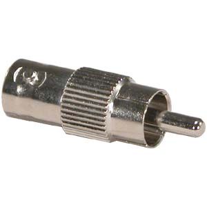 BNC Female To RCA Plug Adapter