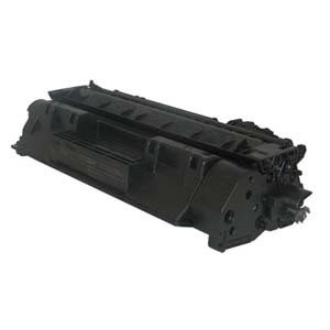 Replacement Black Toner Cartridge for HP CC530A