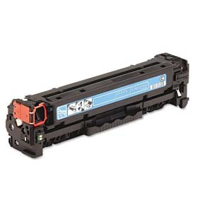 Replacement Cyan Toner Cartridge for HP CC531A