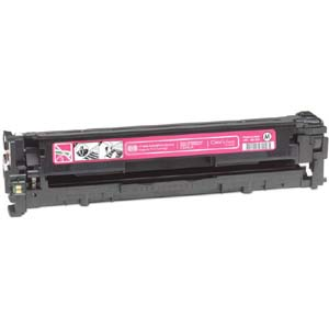 Replacement Magenta Toner Cartridge for HP CB543A