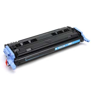 Replacement Cyan Toner Cartridge for HP Q6001A