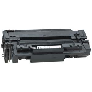 Replacement Black Toner Cartridge for HP Q7551A