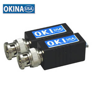 Video Balun BNC to UTP Terminal w/Filter (Pair Kit) Okina UTP-VPB100P