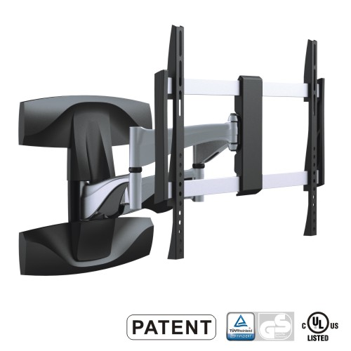"Solid Alminum TV Mount for 37""~70"" w/17.6"" Arm Fullmotion, Max600x400mm VESA, LPA19-464"