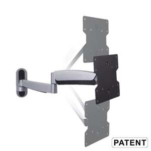 "Counterbalance Full Motion TV Wall Mount 23~42"" LDA08-222"