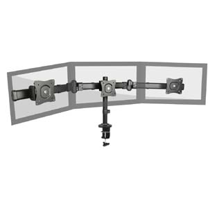 "Triple Monitor Deskmount Stand 13~27"", LDT06-C03"